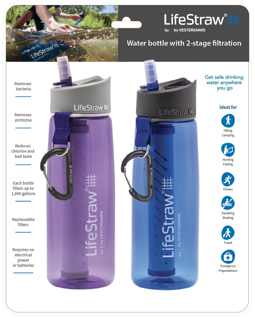 LifeStraw Go Water Filter Bottle by LifeStraw