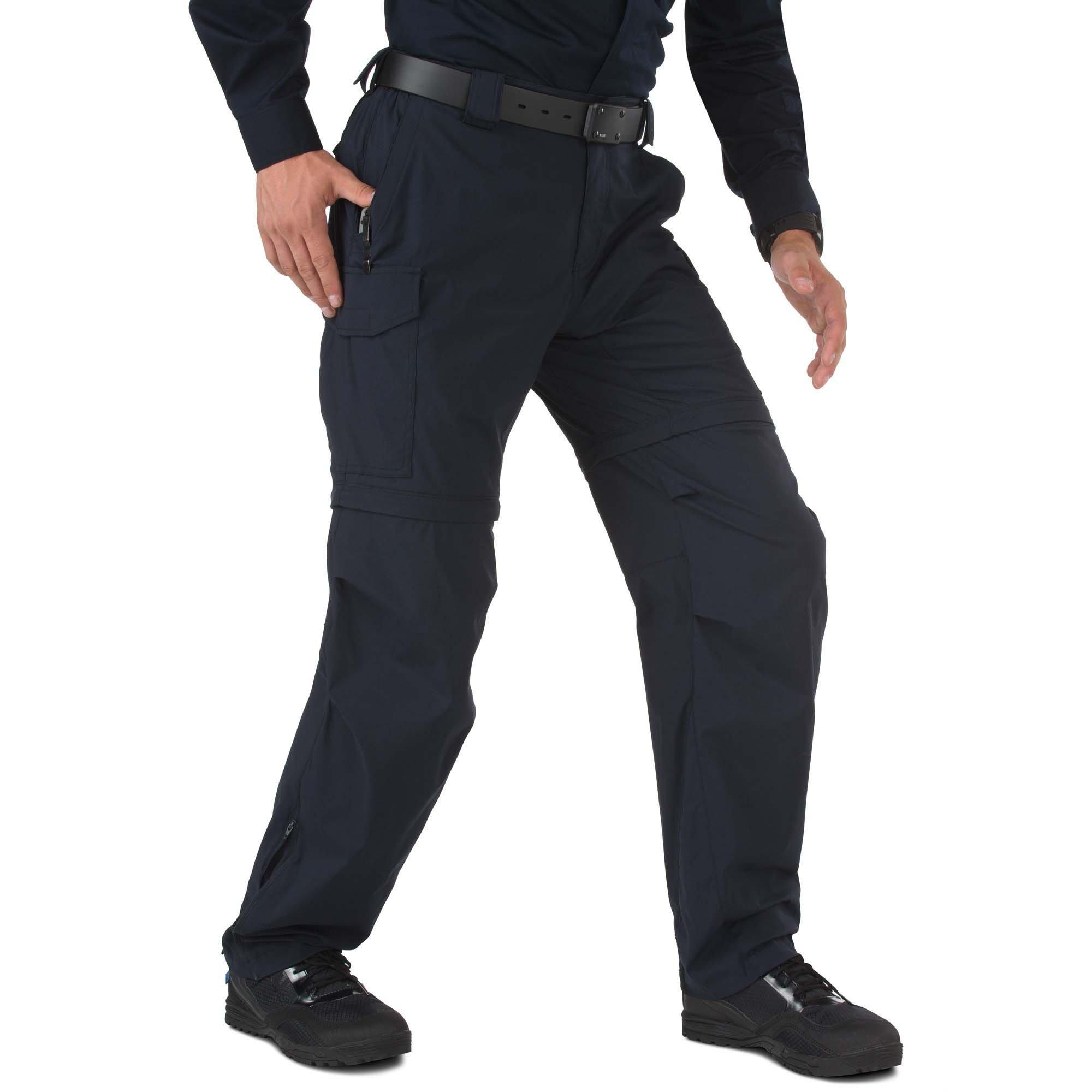 5.11 Men's Bike Patrol Pants, Dark Navy, 34-Waist/32-Length by 5.11