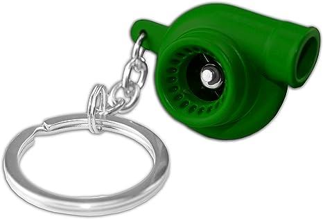 Amazon.com: Verde Metal Spinning Turbo Bearing Cadena de ...