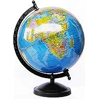 GeoKraft Educational Political Laminated Rotating World Globe with Metal