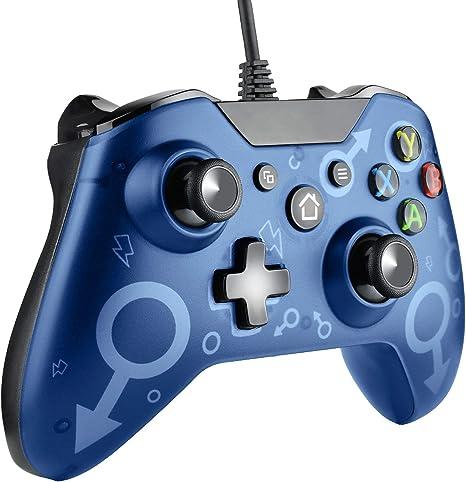 Molyhood Controlador para Xbox One, Mando Xbox One Controlador con ...