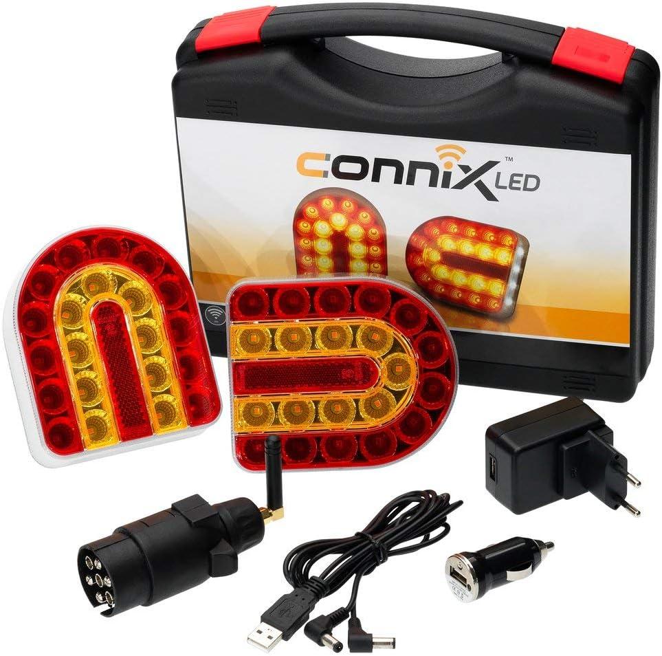 Led Leuchtensatz Connix Magnet Kabellos 12 24v Auto