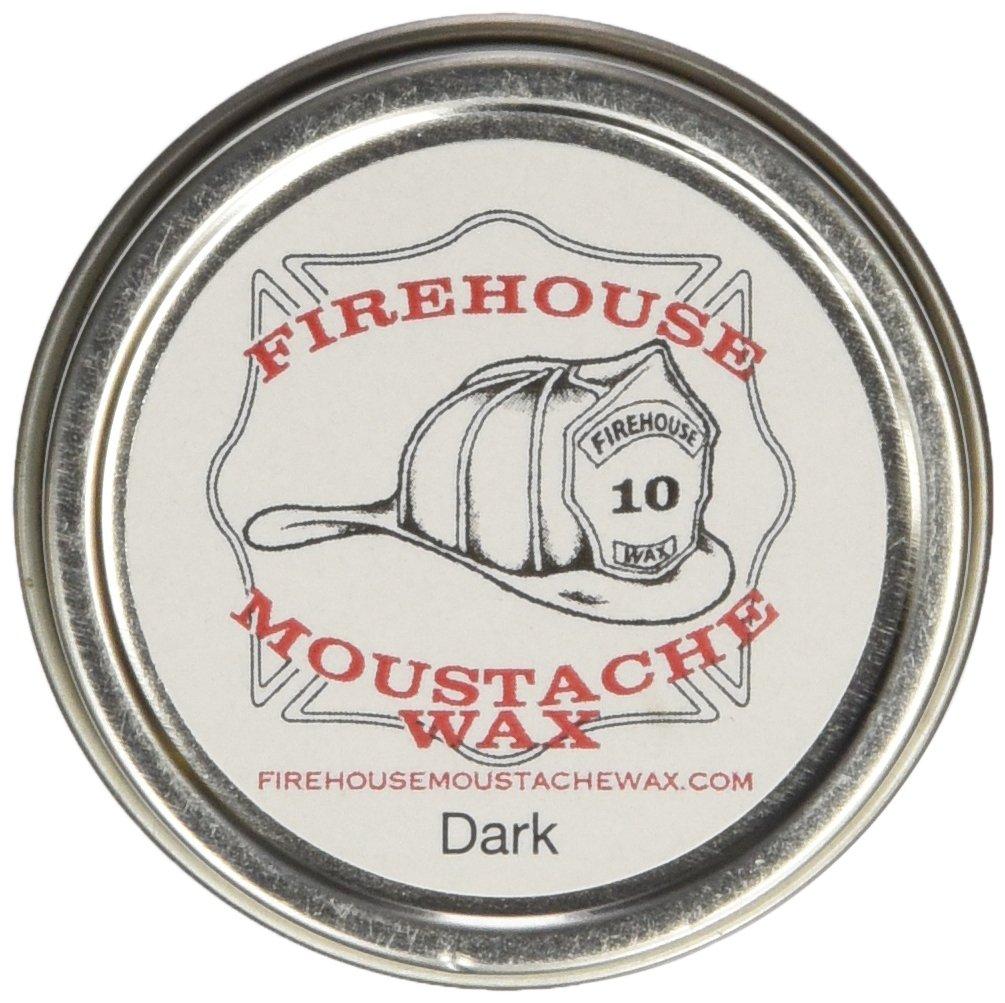 Firehouse Moustache Wax, Dark