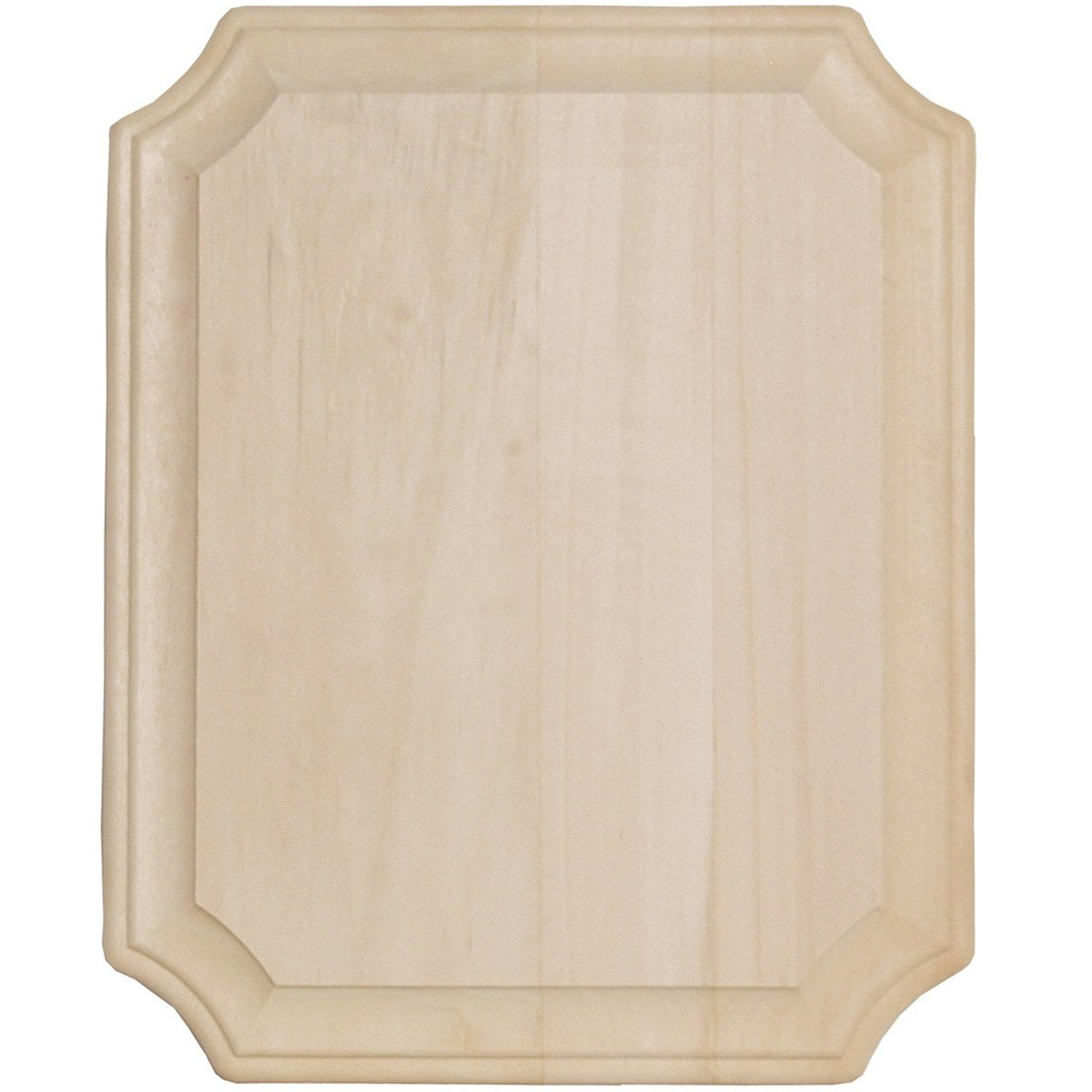 Walnut Hollow 8-Inch by 10-Inch Basswood French Corner Wide Edge Plaque Notions - In Network 1908