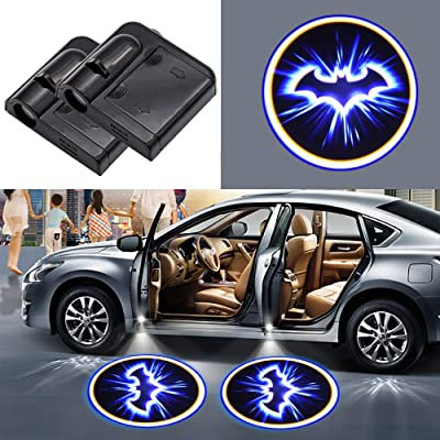Car concentration camp Batman Car Door Led Welcome Light Car Door Courtesy Light Suitable Fit for All Brands of Cars (for Batman): Automotive