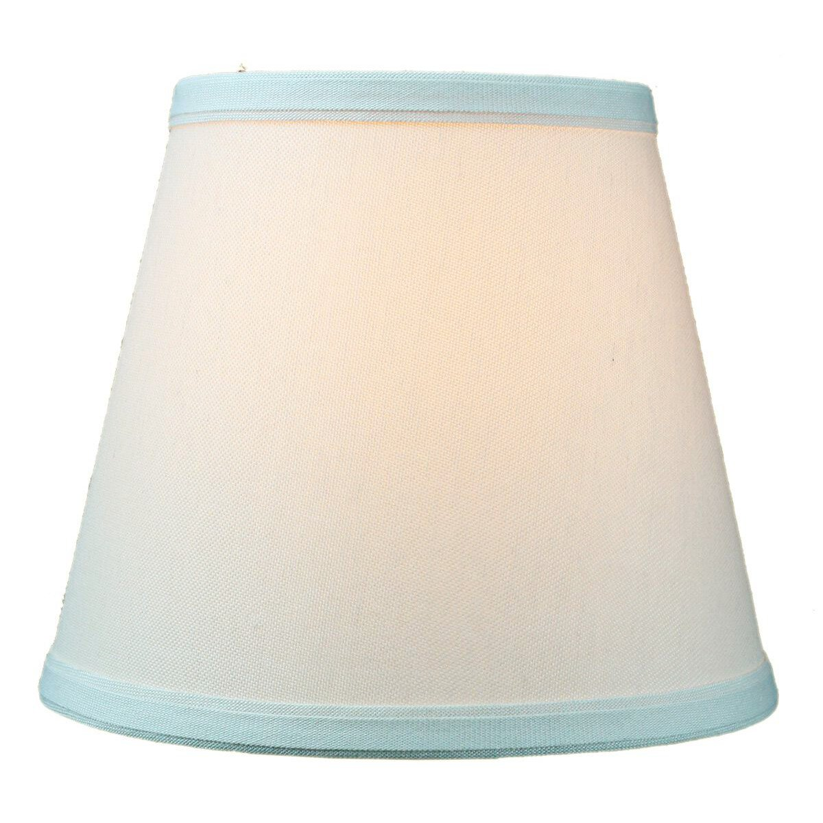 Amazon lamp shades tools home improvement - 5x8x7 Empire Linen Edison Clip On Lampshade Light Oatmeal By Home Concept Perfect For Small Table Lamps Desk Lamps And Accent Lights Small