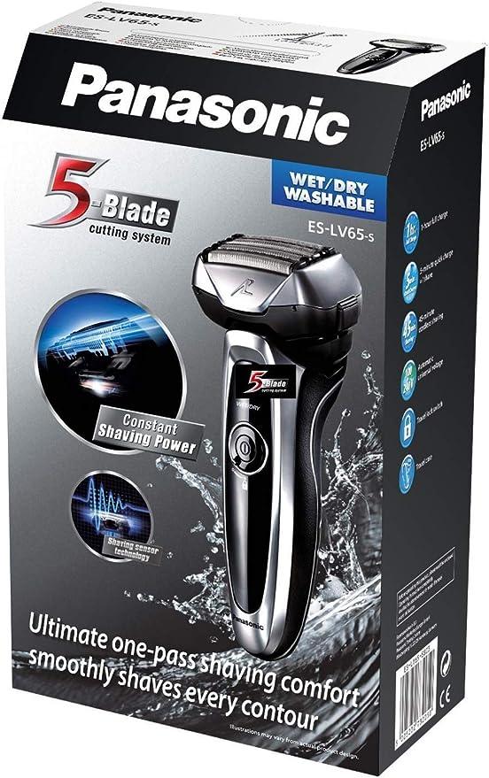 Panasonic Arc5 ESLV65S - Maquinilla de afeitar inalámbrica con ...