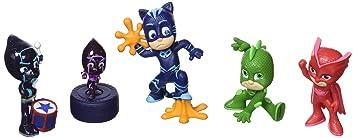 JP PJ Masks PJMasks - Figuras coleccionables (5 unidades)