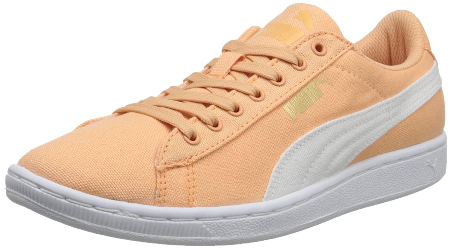 PUMA Suede Lace up Sneakers Vikky Classic —