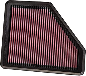 K&N Engine Air Filter: High Performance, Premium, Washable, Replacement Filter: 2008-2012 HYUNDAI (Genesis Coupe), 33-2958