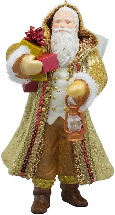 Father Christmas white 2016 Hallmark Keepsake Christmas ornament in orig box
