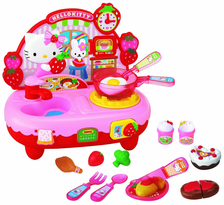 Amazon.com: Hello Kitty Kitchen Set: Toys & Games