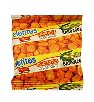 Diana Cornbits 0.56 oz (Pack of 12) - Elotitos (Pack of 1)