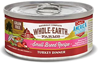 product image for Whole Earth Farms Small Breed Grain Free Wet Dog Food (Case of 24)