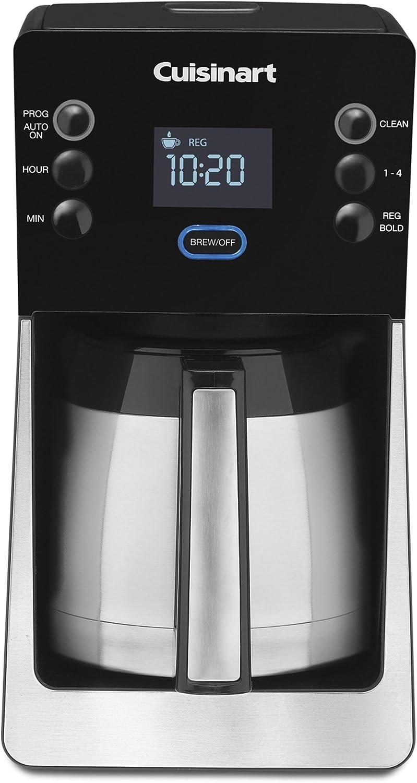 Cuisinart dcc-2900 Perfec Temp térmica 12-cup cafetera programable ...