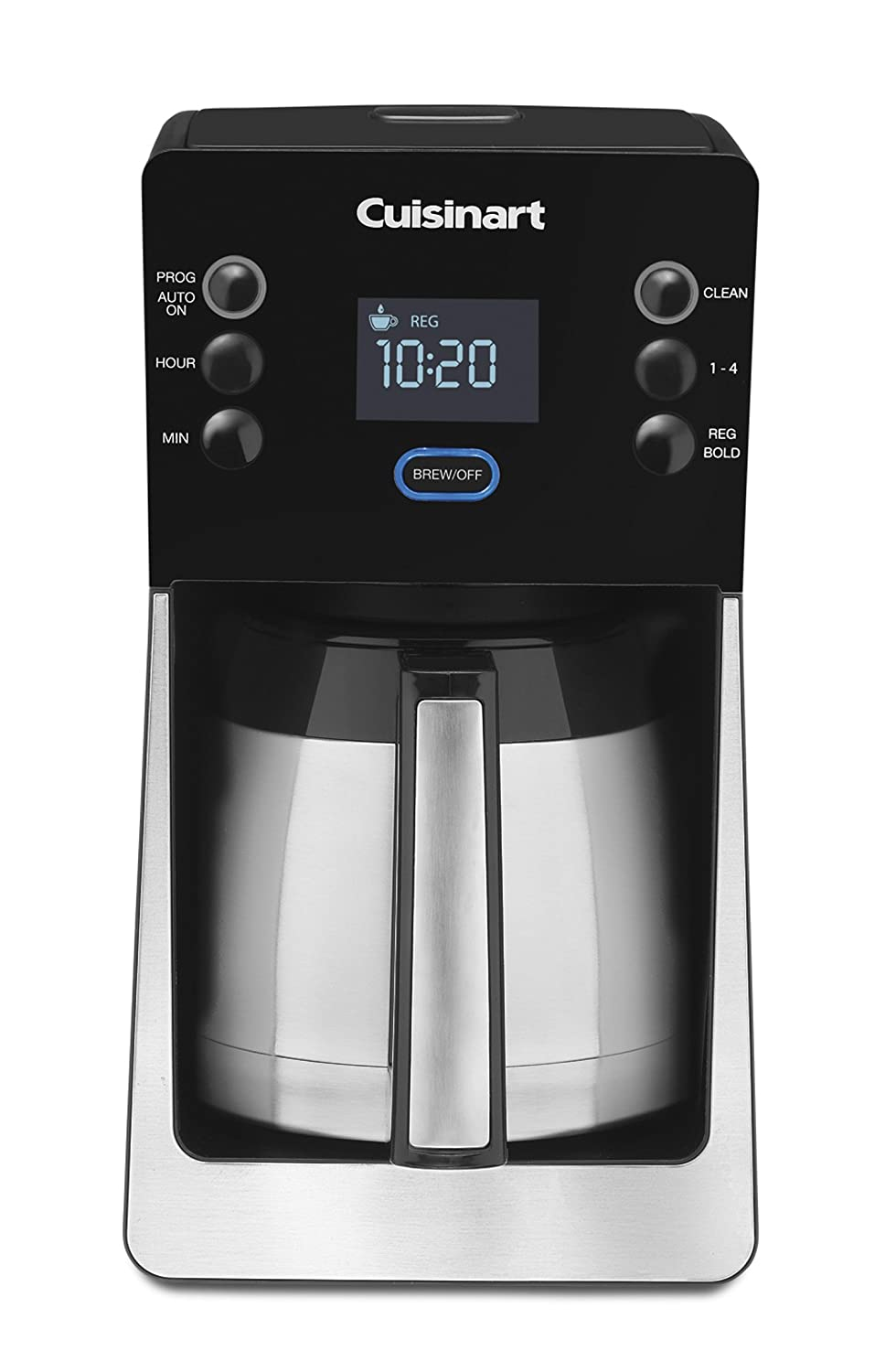 Cuisinart coffee maker stainless steel carafe - Amazon Com Cuisinart Dcc 2900 Perfec Temp 12 Cup Thermal Programmable Coffeemaker Drip Coffeemakers Kitchen Dining