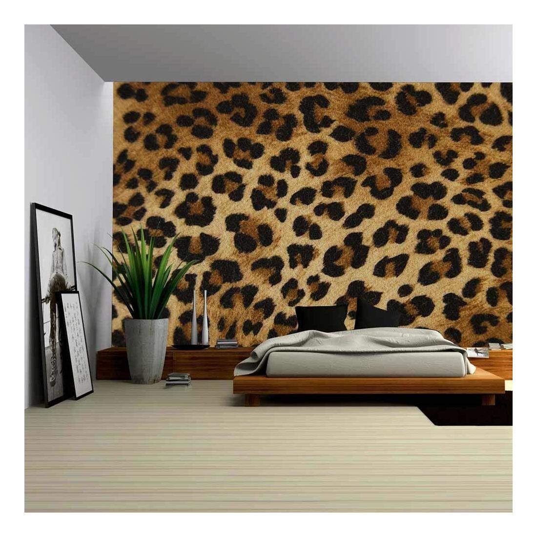 wall26 - Background Cloth as a Tiger - Removable Wall Mural | Self-adhesive Large Wallpaper - 66x96 inches