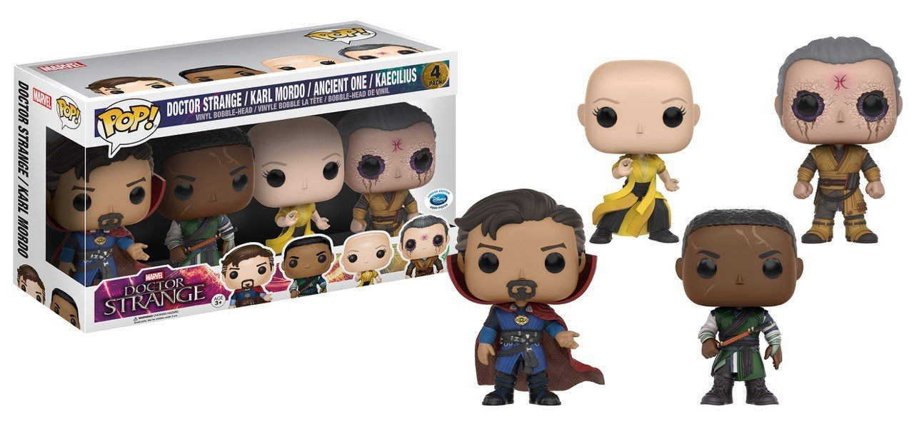 Action & Toy Figures Doctor Strange Bobble Head Vinyl Figure Doctor Strange Action Figure Collectible Model Toy With Retail Box