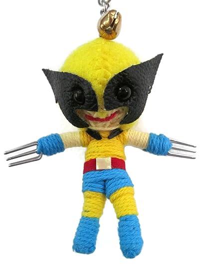 1 x x-Men Wolverine vudú muñeca de cuerda llavero: Amazon.es ...