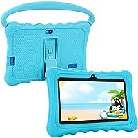 Tablet para Niños Pad para Niños,7 Pulgadas Tablet para niños con Sistema Operativo Google Android 5.1 y Caso de SiliconPantalla IPS,ROM de 8 (Blue)