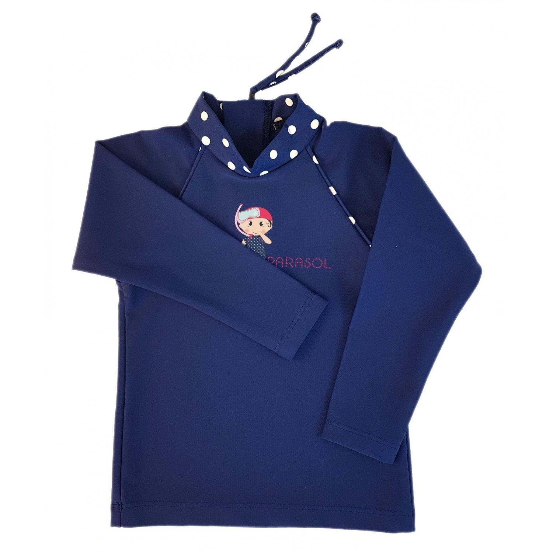 Marinella T Shirt Maillot Anti UV Manches Longues MayoParasol