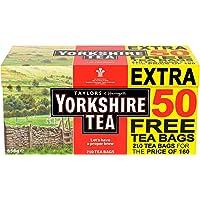 Yorkshire Tea Original Red Label 210 Theezakjes 656g - Juiste brouwsel voor een goede ochtend, 100% hoogwaardige thee…