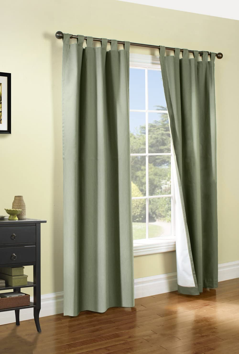 Thermalogic Weathermate Curtain 80×54 sage ThermalogicWeathermate Insulated tab Panel