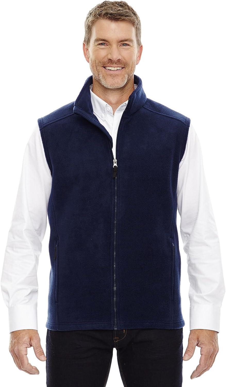 Ash City Core 365 Journey Mens Tall Zipper Fleece Vest