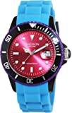 MADISON NEW YORK Unisex-Armbanduhr Candy Time Colour Festival Analog Quarz Silikon U4484E