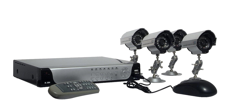 Chacon 34497 - Cámara de vigilancia color Negro: Amazon.es: Bricolaje y herramientas