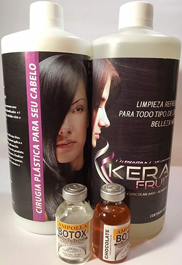 Amazon.com : HAIR SURGERY KERAFRUIT 1 LITRE SHAMPO AND TREATMENT AND (2) BLISTERS : Everything Else