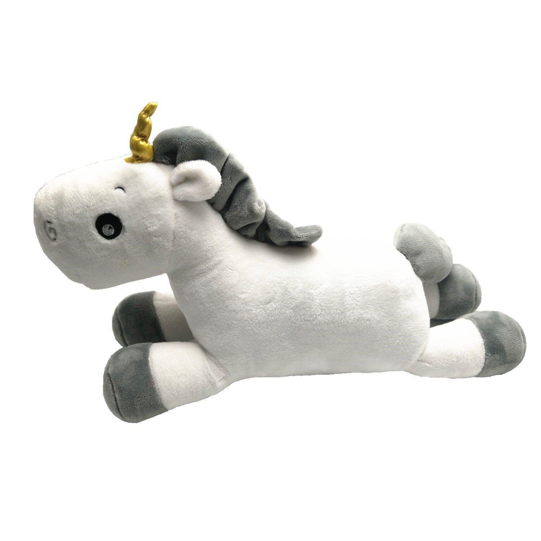 JYSPORT unicornio cojines - Juguetes de peluche suave almohada, rosa, 50cm … 50cm ...