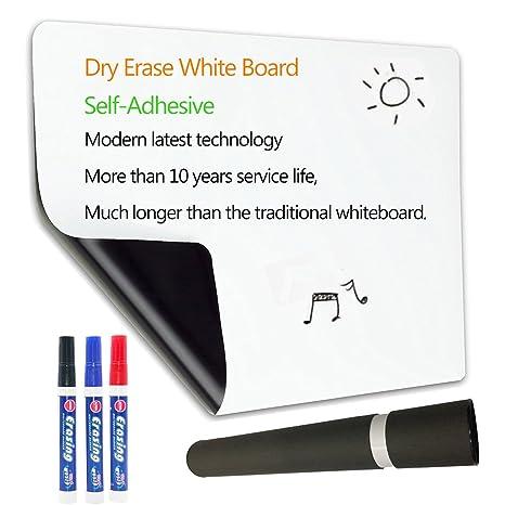 Amazon.com: Hoja de borrado en seco tablero blanco para ...