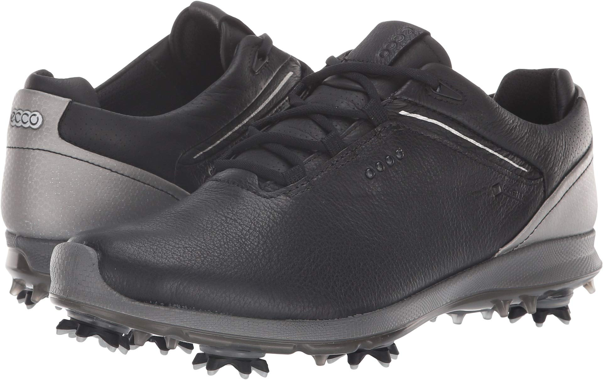 ECCO Women's Biom G 2 Free Gore-TEX Golf Shoe, Black Yak Leather, 8 M US by ECCO