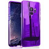 Samsung Galaxy S9 2018 Pro Luxury Accessories Case Slim Fit Plus Gradual Colorful Gradient Color Change Ultra Thin Lightweight Rugged Bumper Anti-Drop Protector Cover Holder (Purple)