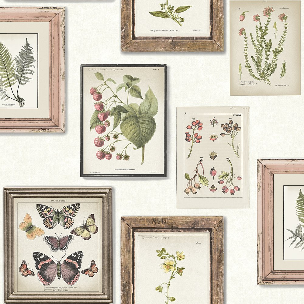 Chesapeake 3115-12501 Sibylla White Gallery Wallpaper