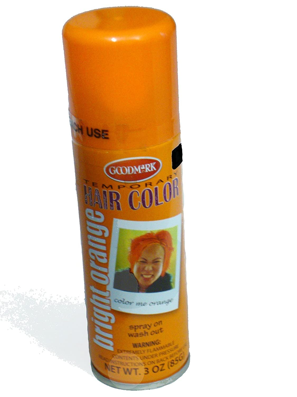 Amazon Goodmark Temporary Hair Color Bright Orange 3oz Spray