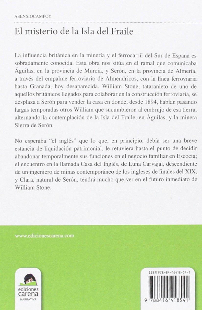 El misterio de la Isla del Fraile (Narrativa Carena): Amazon.es ...