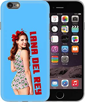 Lana del Rey Musician Retro Outfit Smiling_BEN28157 Protective Phone Mobile Smartphone Case Funda Fundas Carcasa Cover Hard Plastic For iPhone XS MAX Funny Regalo Christmas: Amazon.es: Electrónica