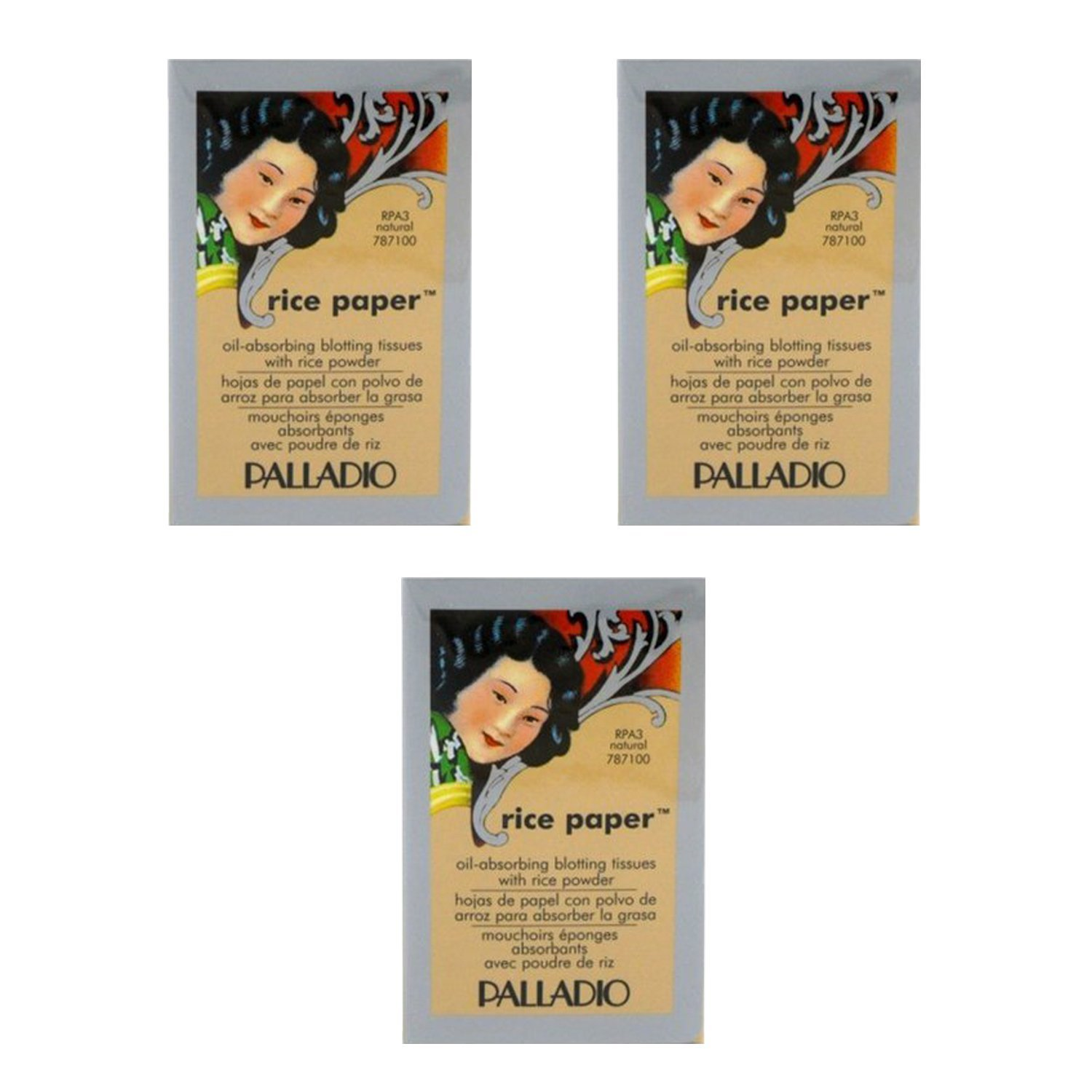Palladio Rice Paper Tissues Natural (3 Pack) RPA3