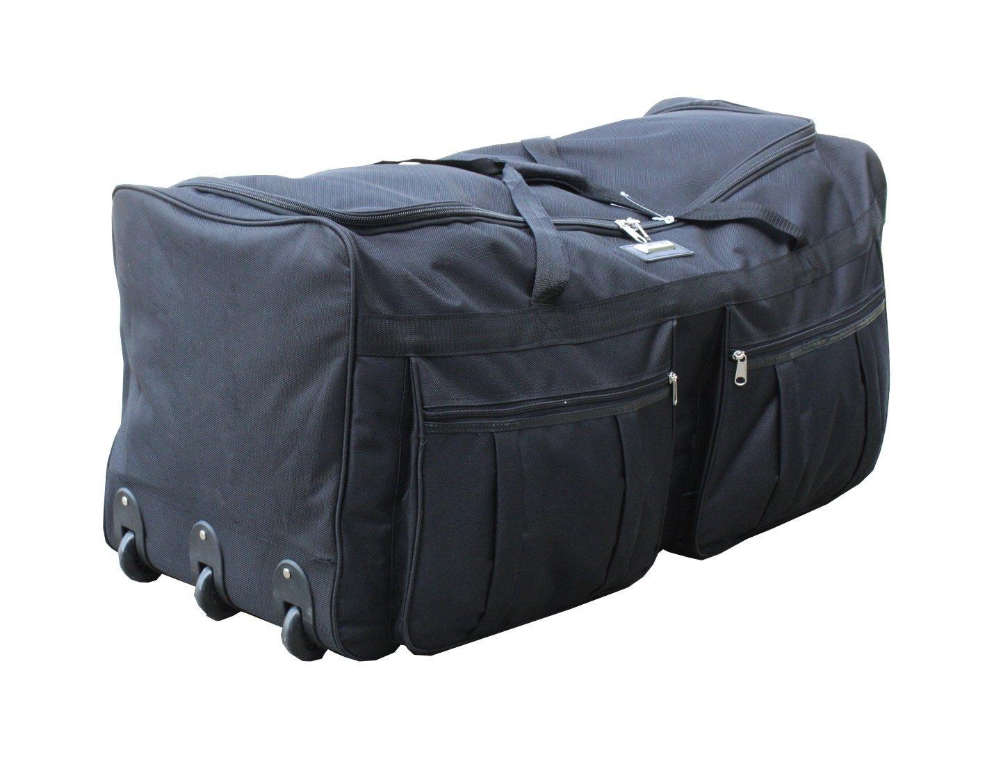 7295115f2d7 Filson Extra Large Rolling Duffle Bag Tan Sportique