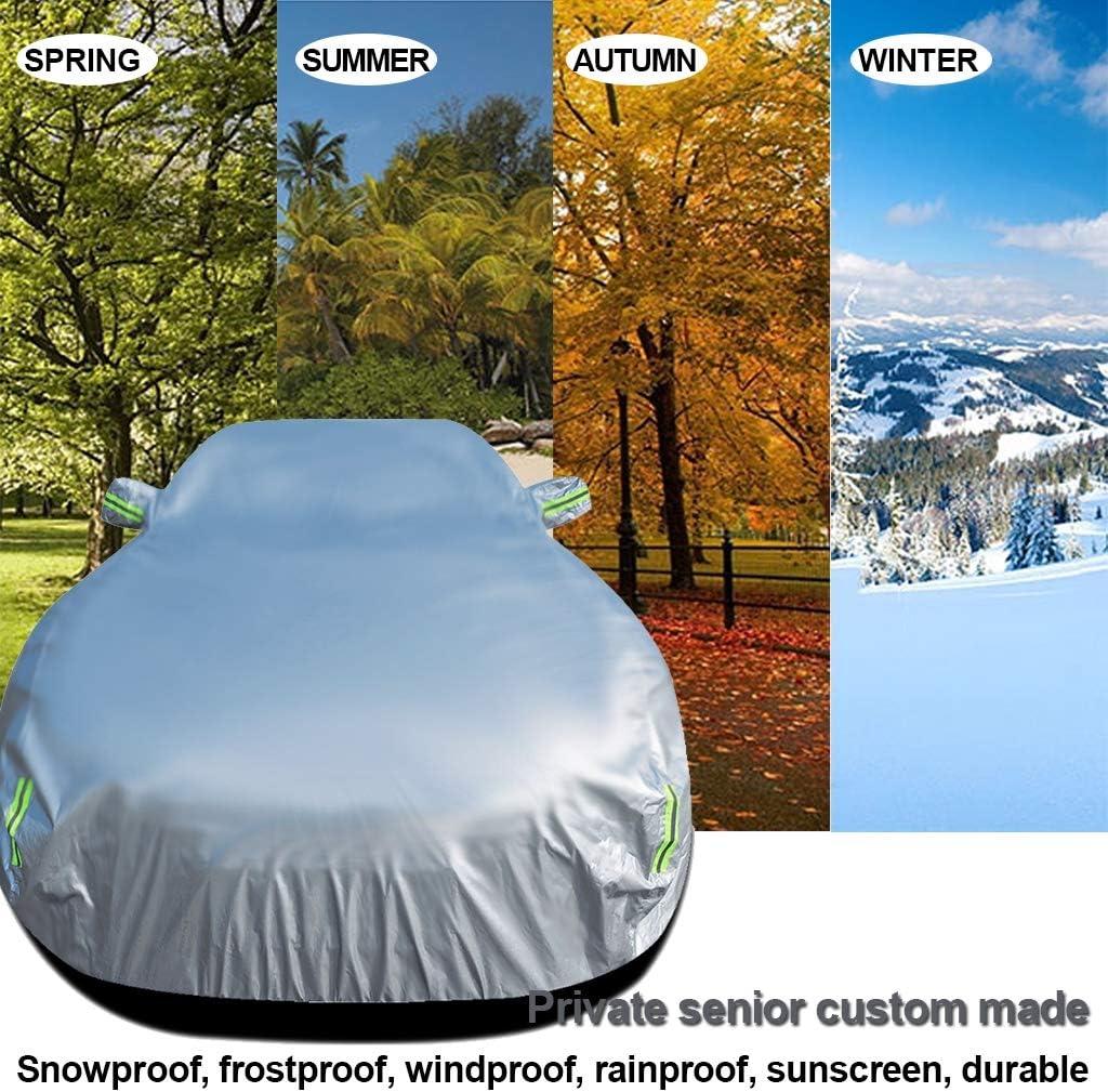 Housses pour Auto Est Compatible avec la BMW X5 B/âche Voiture//Tout Temps poussi/ère UV//Int/érieur ext/érieur Vent Soleil Protection Contre la Pluie