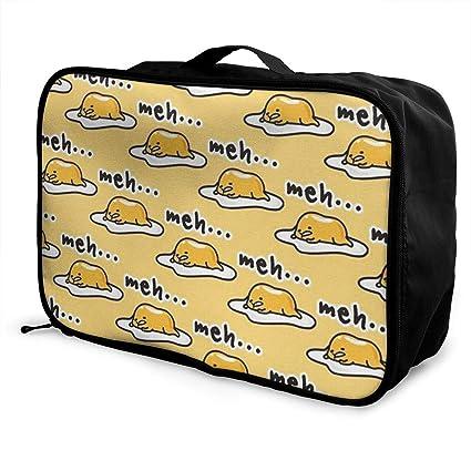 Amazon.com: Gudetama - Bolso de viaje para equipaje ...