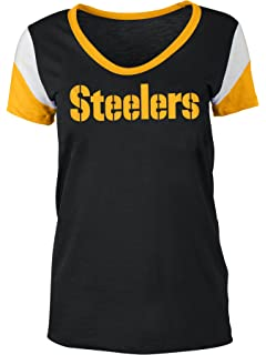 88a674cac Amazon.com   Pittsburgh Steelers Women s Baby Jersey Racer Back Tank ...