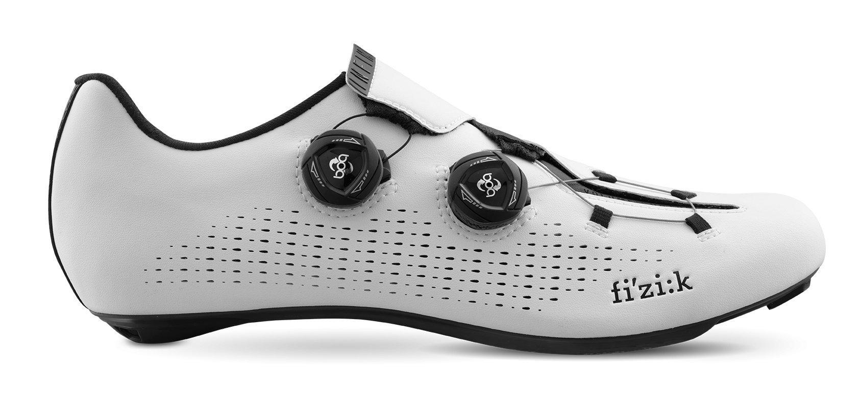 Fizik R1 INFINITO Shoes, White/Black, Size 37