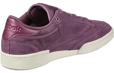 13f05b55a218a2 Reebok Men s Club C 85 So Gymnastics Shoes  Amazon.co.uk  Shoes   Bags