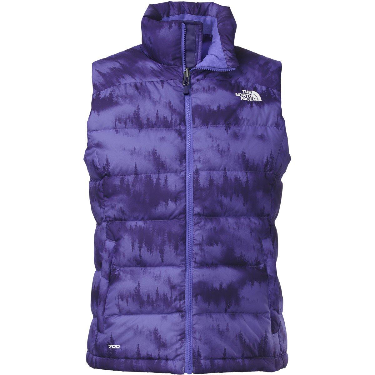 Garnet Purple Mountain Scape Print THE NORTH FACE Women's Nuptse 2 Vest