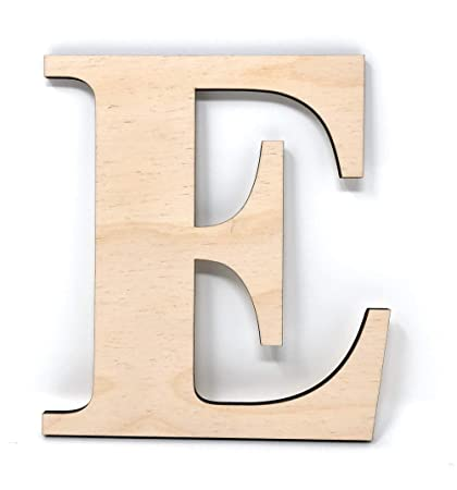 gocutouts 12 wooden e unfinished wooden letters paint ready wall decor times letter 12quot
