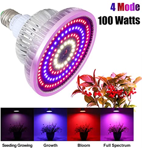 5X 100W Led Grow Light Full Spectrum Veg Medical Indoor Hydroponic Bloom Plants