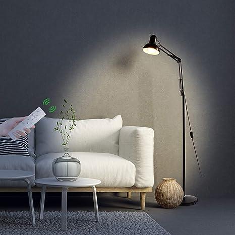 Natural light bulbs for office White Desk Sunix Led Reading Floor Lamp Dimmable Energy Saving Full Spectrum Natural Daylight Sunlight Amazoncom Sunix Led Reading Floor Lamp Dimmable Energy Saving Full Spectrum